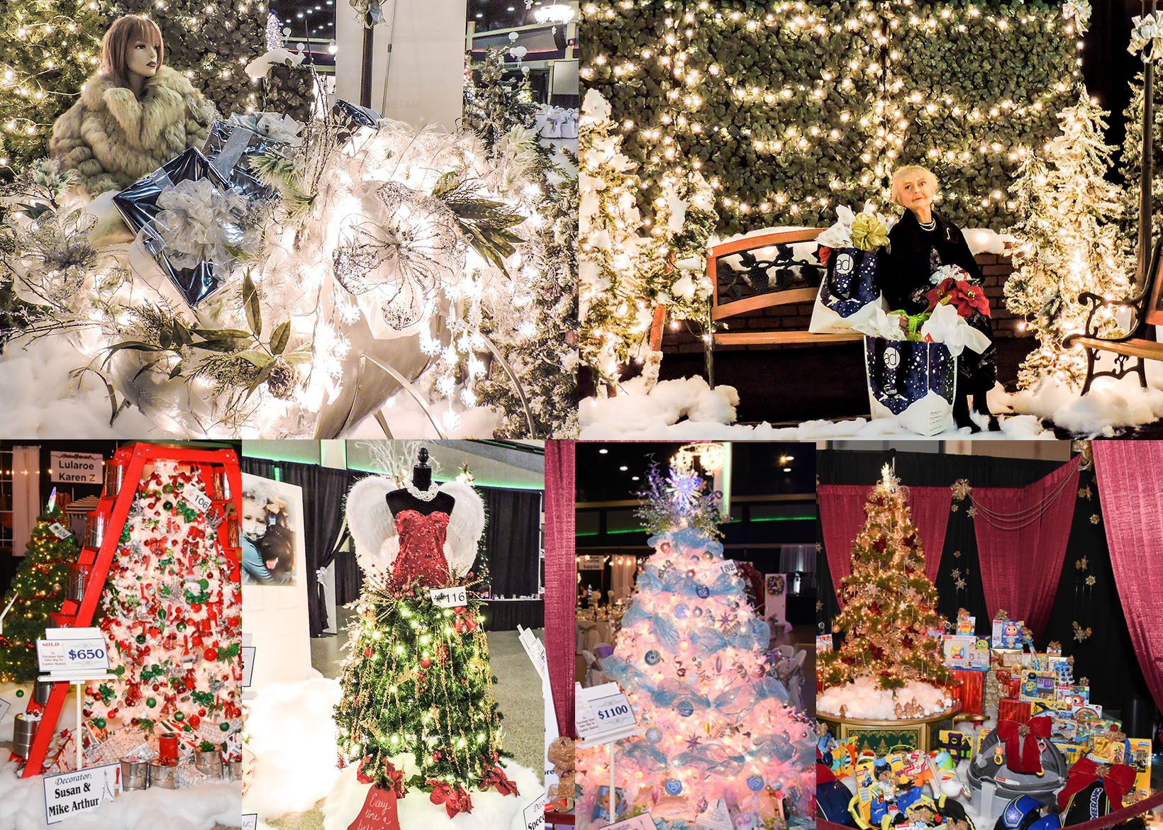 Festival of Trees 2018 Open to Public DEC 3 & 4